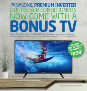 Panasonic Perth Summer Special